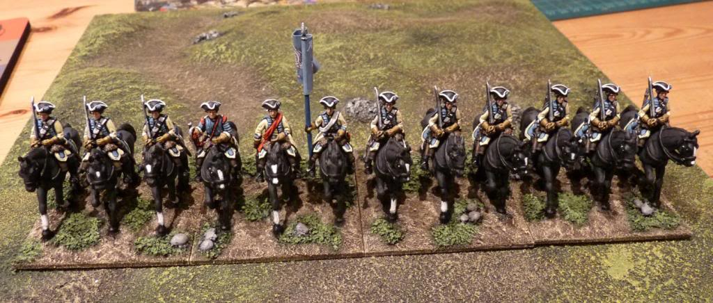 Cuirassiers join the army