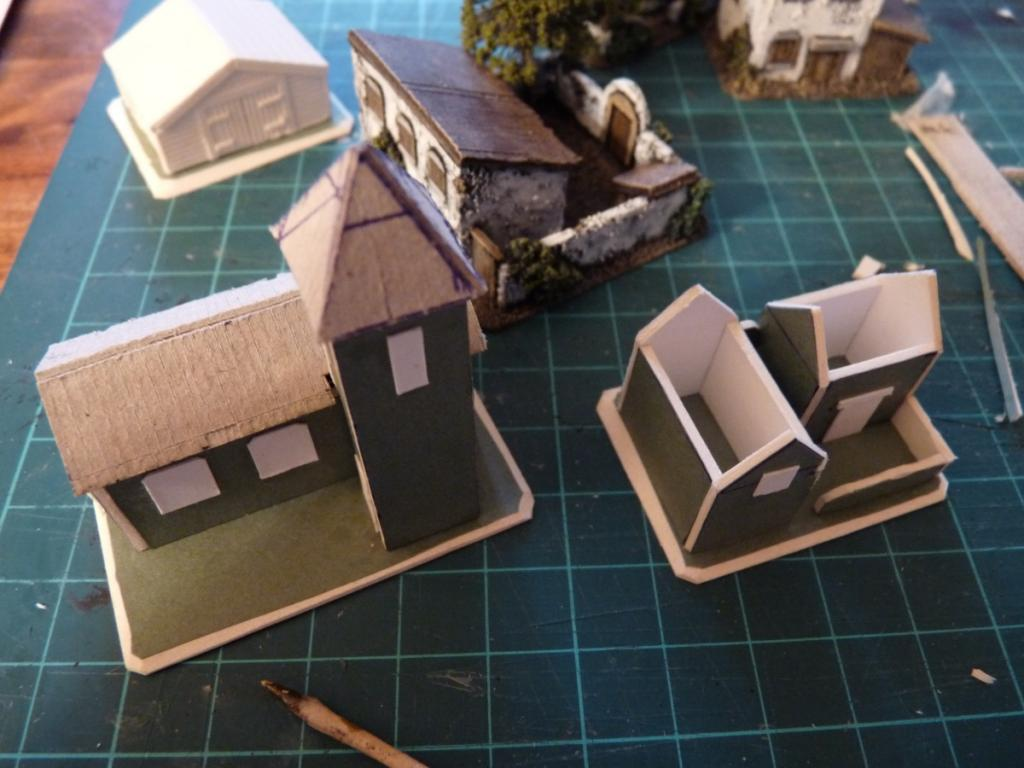Finally finished – a few more 6mm buildings