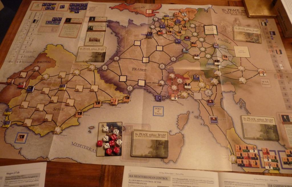Refighting the War of the Spanish Succession