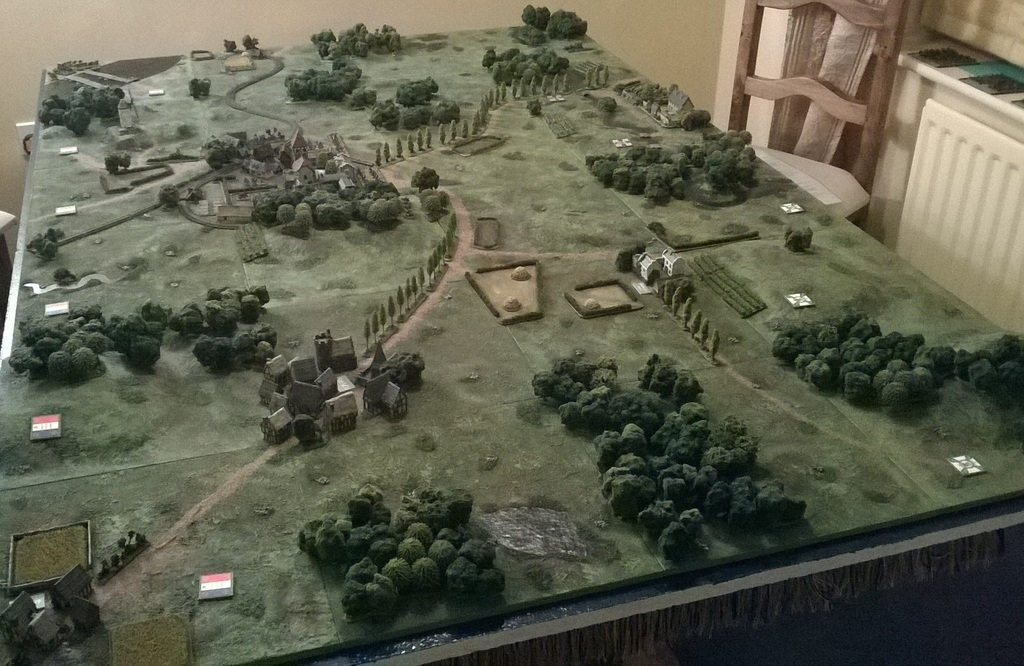 Gaming Weekend Day 1: The Battle of Hoffen 1870