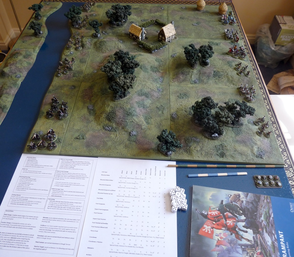 Lion Rampant – First Game