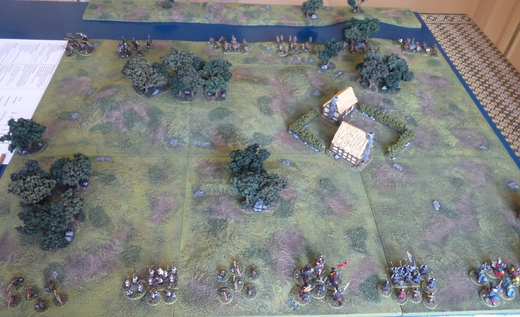 Lion Rampant – First Game Pics and Thoughts