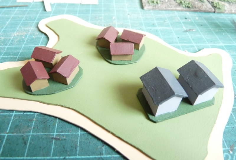 Simple buildings for the islands