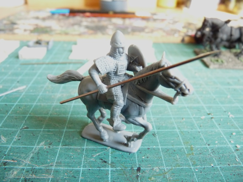 A belated start to my Lion Rampant force