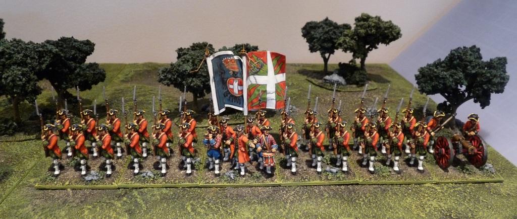 The Savoy La Marine Regiment