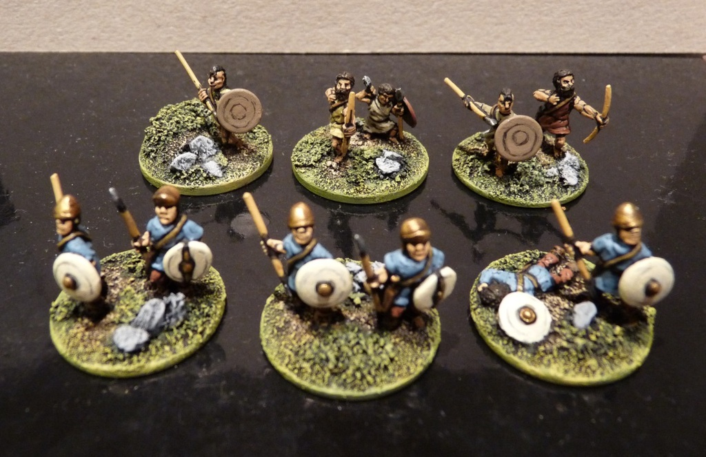 A Few Extras Painted