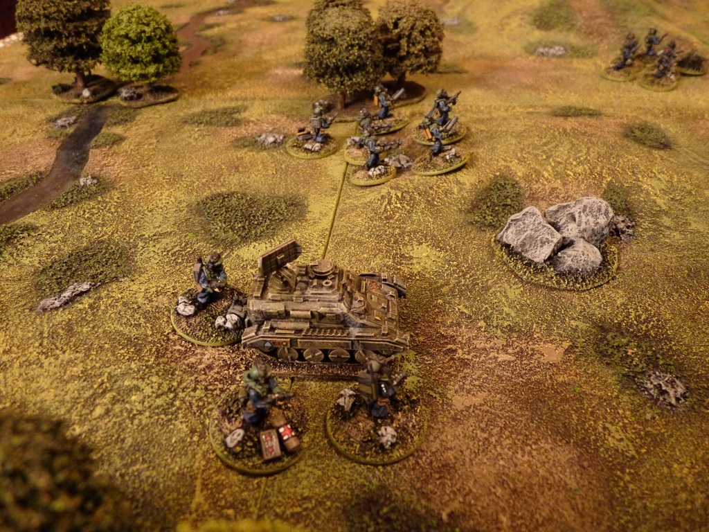 Trying Dragon Rampant for Sci-Fi