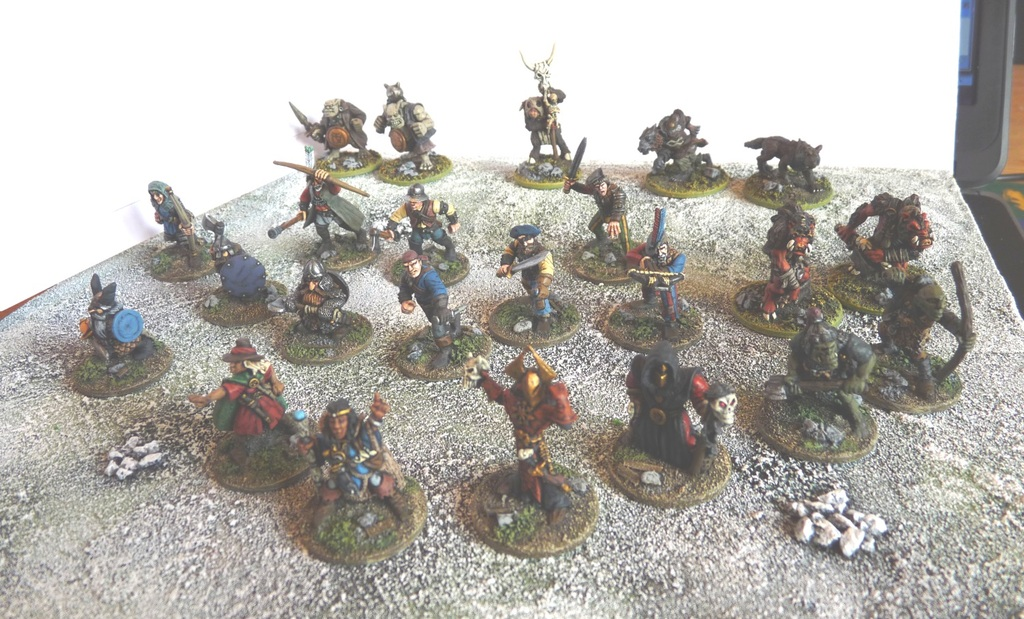 Figures Based for Frostgrave