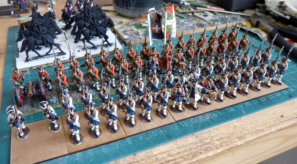 Mustering A New Regiment