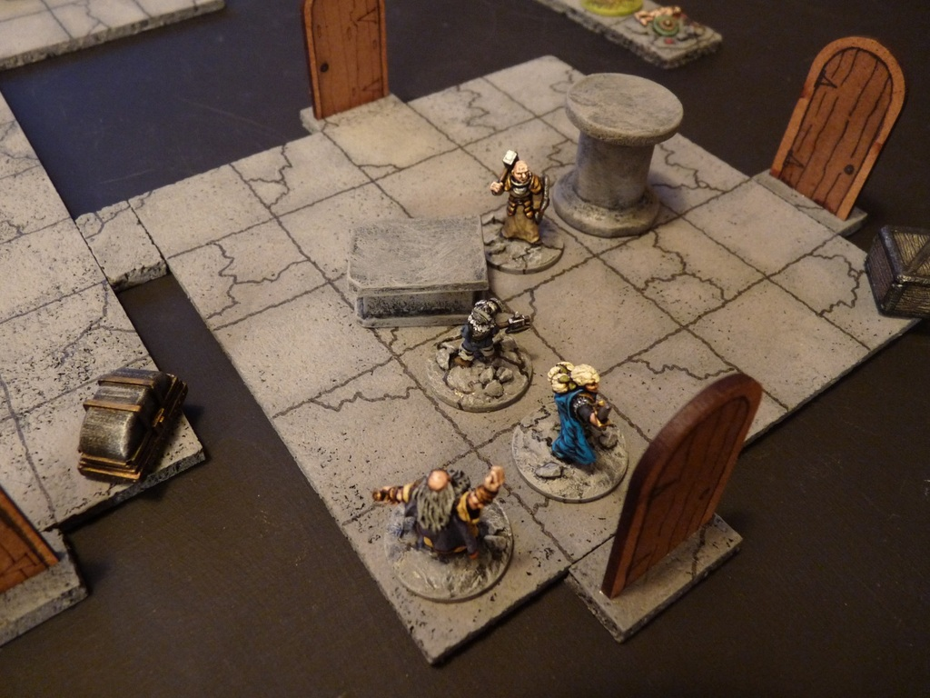Dungeon Gaming in 15mm