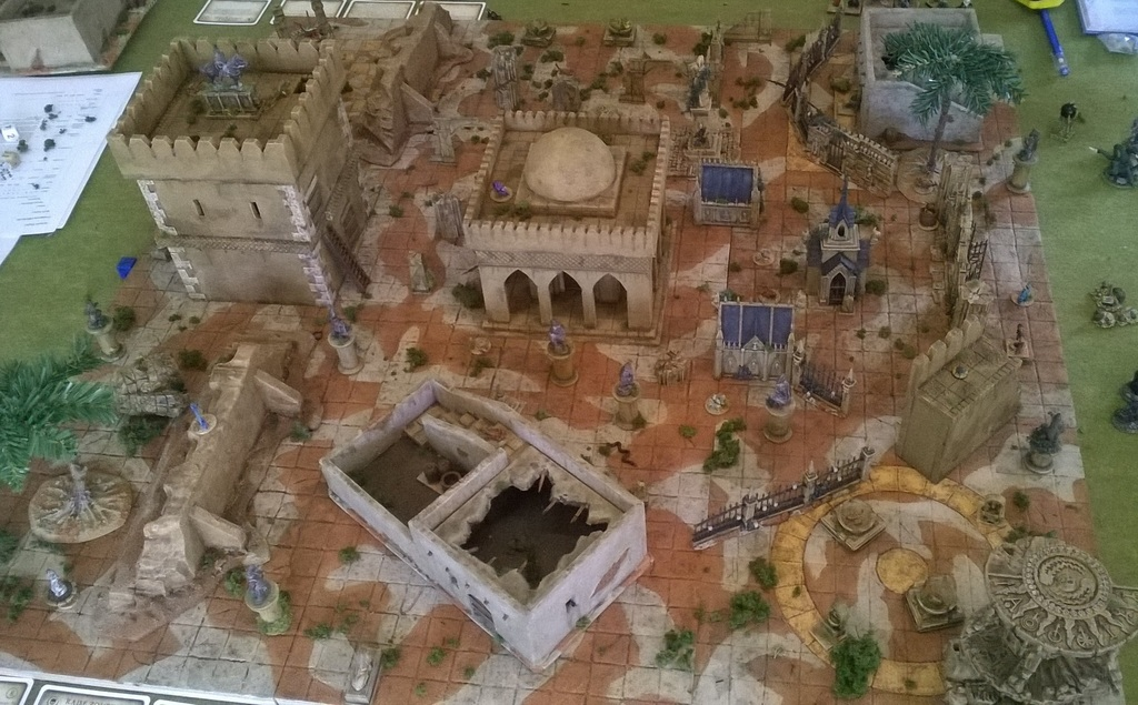 Frostgrave in the Sand