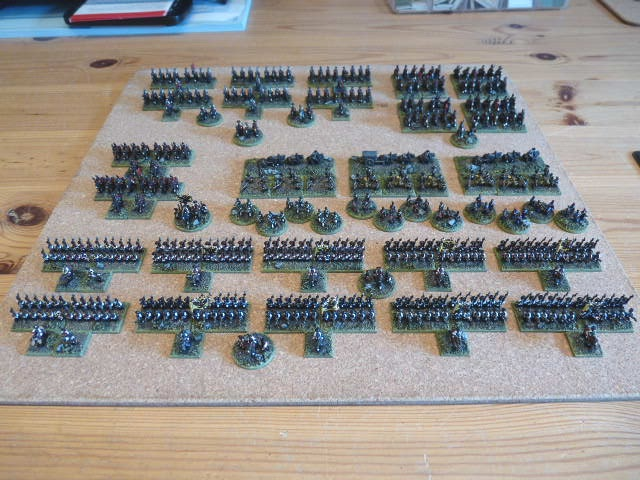 Some Progress on the 6mm SYW Armies