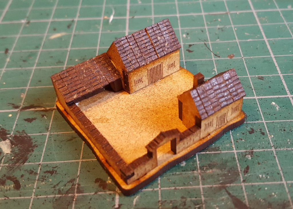 Testing Downsized Buildings from Supreme Littleness Designs