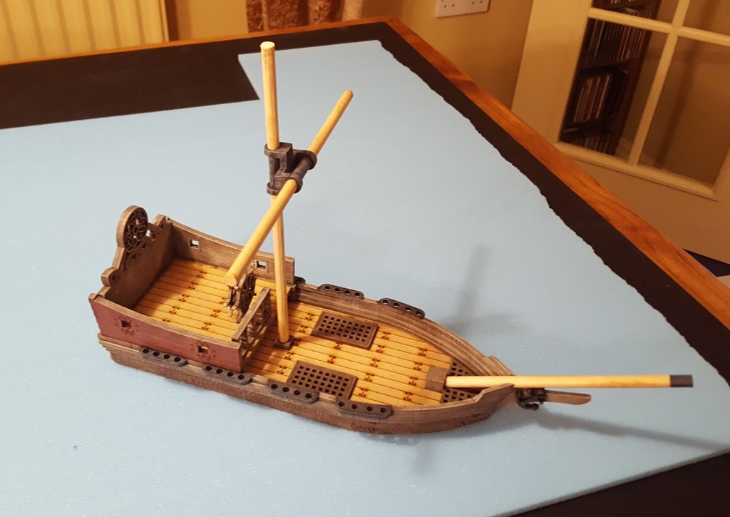 More MDF – Dark Seas Ship