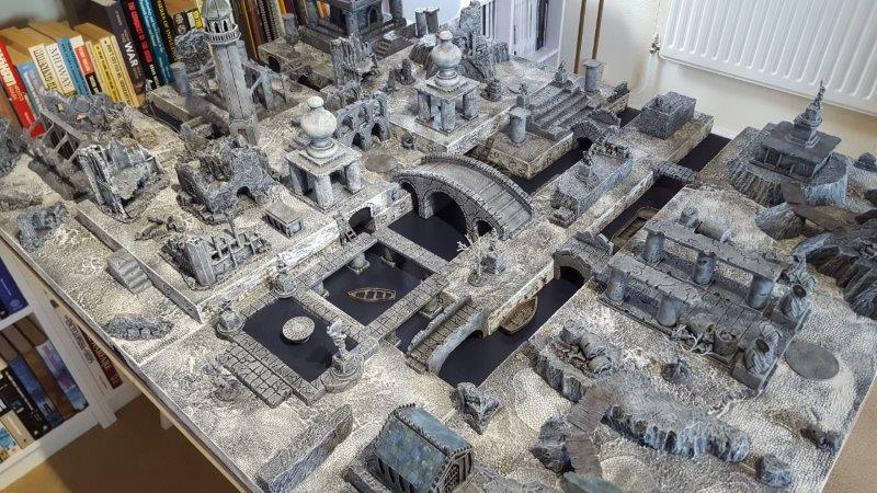 Frostgrave in 15mm – Pics from a 2019 game