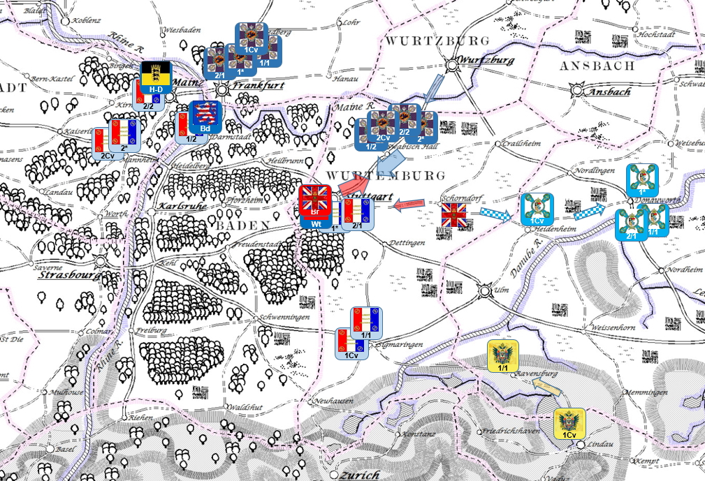 The Rhine War of 1855 – Prelude to the Battle of Auenwald