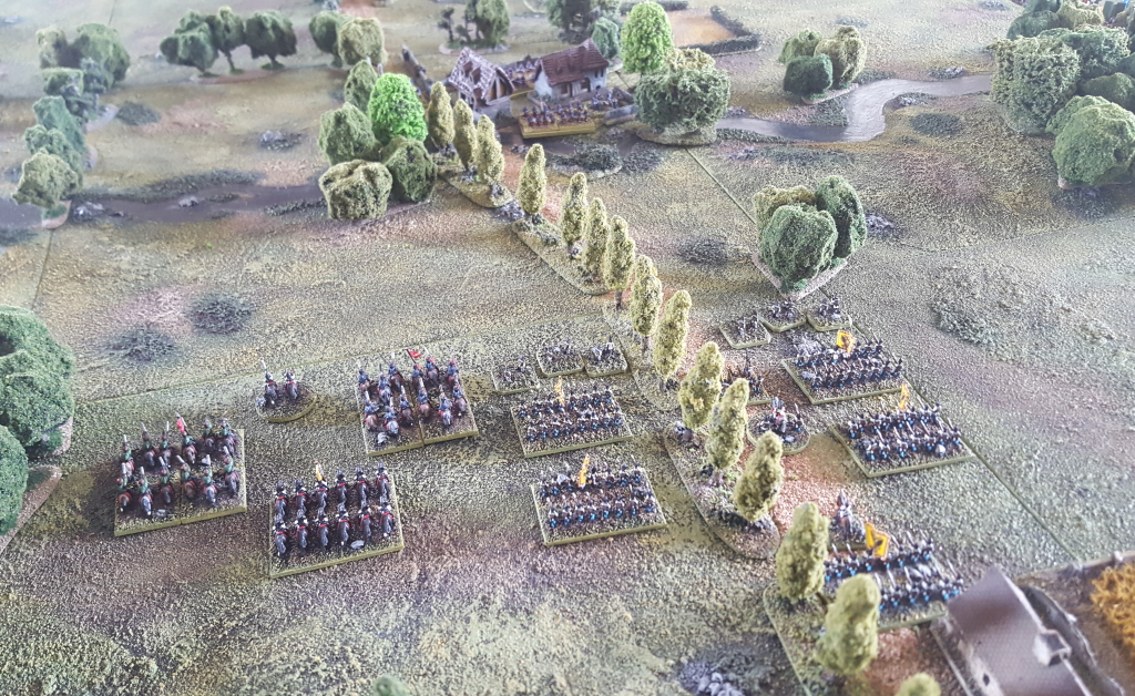 The Rhine War of 1855 – The Battle of Sigmaringen Part 2